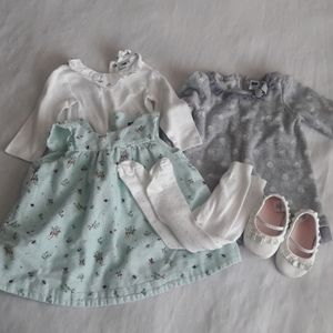 Janie and Jack Baby Girl Clothing Lot 6-12 Month